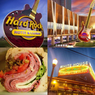 Now located inside the New Hard Rock Hotel & Casino