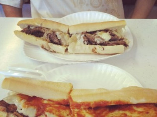 Cheese Steak and Pizza Steak